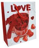 TOREBKA OKAZYJNA LOVE 32 x 26 x 12 cm opak=48szt *2560